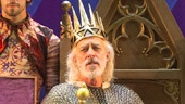 Terrence Mann as King Charles and Orion Griffiths, Gregory Arsenal and Yannick Thomas as Players in Pippin.