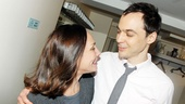 Laurie Metcalf and Jim Parsons are overjoyed to see each other.