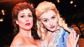 Stephanie J. Block and Betsy Wolfe are making love to the camera. Can't you feel it?