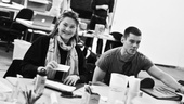 The Glass Menagerie Rehearsal  Cherry Jones  Brian J. Smith