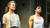 Picnic's sultry stars Maggie Grace and Sebastian Stan take their big opening night bow.