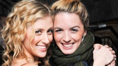 Caissie Levy shares the big night with her Broadway Bestie, former Hair co-star Kacie Sheik.