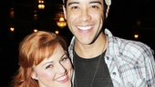 Sherrie and Drew reunite! Rebecca Faulkenberry catches up with her former Rock of Ages co-star Dan Domenech.