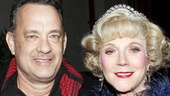 Nice Work  Tom Hanks Backstage  Tom Hanks  Blythe Danner