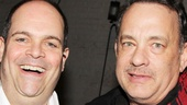 Nice Work – Tom Hanks Backstage – Brad Oscar – Tom Hanks