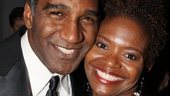 Broadway favorites Norm Lewis and LaChanze are dressed to the nines at the gala celebration.