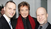 Manilow on Broadway – opening night – Jordan Roth – Barry Manilow – Richie Jackson