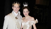 Here's your first look at Santino Fontana and Laura Osnes in William Ivey Longs gorgeous Cinderella finale costumes. A true fairytale come to life!