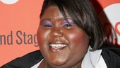 Oscar nominee Gabourey Sidibe (Precious) supports Second Stage Theatre on bowling night.