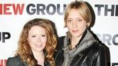 Film stars Natasha Lyonne and Chloe Sevigny showed up to lend support to this new off-Broadway show.
