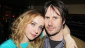 Clive Opening Night  Zoe Kazan  Josh Hamilton