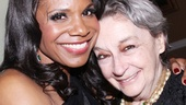 Master Class alums Audra McDonald and Zoe Caldwell, who earned Tony Awards as opera student Sharon Graham and Maria Callas, respectively, reunite at the gala. McDonald named her daughter Zoe after the Broadway legend!