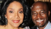 Tony winner Phylicia Rashad (who starred alongside McDonald in A Raisin in the Sun) and Taye Diggs (McDonald's Private Practice co-star) serve as the masters of ceremonies for the starry gala.