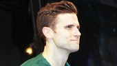 Wickeds dashing leading man Kyle Dean Massey steps forward for his solo bow.