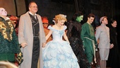 The principal players of Wicked come together for one final bow.