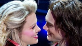 Kate Rockwell as Sherrie and Justin Matthew Sargent as Drew in Rock of Ages.