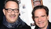 Bosom Buddies vets Tom Hanks and Peter Scolari are thrilled to be co-stars again…this time on Broadway!
