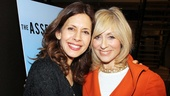 Jessica Hecht and Judith Light team up as former movie star Julie Bascov and her sister-in-law Faye, respectively, in The Assembled Parties.