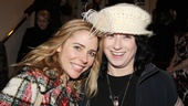 Actress Kerry Butler and Bunheads creator Amy Sherman-Palladino hang out at the party.