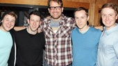 Dogfight  Cast Recording  F. Michael Haynie  Nick Blaemire  James Moye  Adam Halpin  Steven Booth