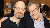 Vanya himself, David Hyde Pierce, grabs a shot with the play's director, Broadway mainstay Nicholas Martin.