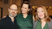 The play's eponymous trio of Chekhovian siblings are portrayed by David Hyde Pierce, Sigourney Weaver and Kristine Nielsen—all veterans of playwright Christopher Durang's works.