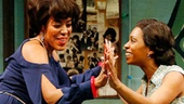 De'Adre Aziza and Michelle Wilson in Detroit '67.