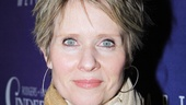 Emmy and Tony winner Cynthia Nixon arrives to support her dear friend Douglas Carter Beane.