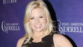 Smash star Megan Hilty keeps in touch with her Broadway roots by checking out the latest new musical.