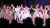 The principal players of Cinderella join hands for one final bow.