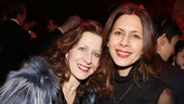Acclaimed actresses Betsy Aidem and Jessica Hecht catch up during the lavish evening.
