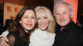 Miscast honoree Judith Light receives major love from her The Assembled Parties co-star Jessica Hecht and the evening's host, Victor Garber.