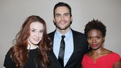 Performers Sierra Boggess, Cheyenne Jackson and LaChanze drive the audience wild with their selections from Les Miz, Into the Woods and Dreamgirls.