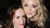 Stage and screen stars Sarah Paulson and Jane Krakowski light up the Hammerstein Ballroom.