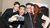 Broadway.com captures some of the backstage fun at Miscast. How adorable are Jeremy, Cheyenne, Jonathan and Sierra?! 