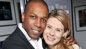 A parting shot of Our Town newlyweds Leslie Odom Jr. and Celia Keenan-Bolger. Thanks for bringing this classic to life again!