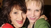 Andrea Martin and Charlotte dAmboise reunite after starring in the pre-Broadway engagement of Pippin at A.R.T. in Cambridge, Massachusetts. 