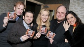 'Edwin Drood' at Barnes & Noble — Nick Corley — Robert Creighton — Betsy Wolfe — Rupert Holmes — Stephanie J. Block