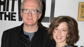 Whos Afraid of Virginia Woolf? co-stars Tracy Letts and Carrie Coon hit the red carpet together.