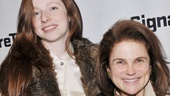 Four-time Tony nominee Tovah Feldshuh brings a very special date on opening night: her daughter Amanda!
