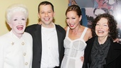 Holland Taylor and Jon Cryer are joined by Cryer's wife, TV host Lisa Joyner, and his mother, playwright Gretchen Cryer. 