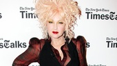 Werk, Ms. Lauper! The Grammy winner shows off her fabulous ensemble.