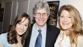 R&H Organization honcho Ted Chapin looks super-pleased by the fabulous contributions by Cinderella stars Laura Osnes and Victoria Clark.