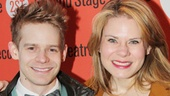 Broadway brother-sister team Andrew and Celia Keenan-Bolger look adorable on opening night.