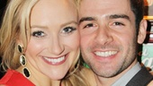 Aww! Betsy Wolfe and Adam Kantor are adorable, onstage and off. See them in The Last Five Years at off-Broadway's Second Stage Theatre!