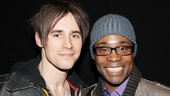 Spider-Man's Reeve Carney may swing around the Foxwoods Theatre but Kinky Boots' Billy Porter dances in six-inch heels!
