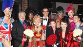 Kinky Boots Opening-  Harvey Fierstein- Jerry Mitchell- Cyndi Lauper- Stephen Oremus- The Angels