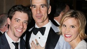 Chaplin's Jenn Colella crashes Christian Borle and Jerry Mitchell's Legally Blonde reunion, but let's be serious, Jenn's welcome everywhere.