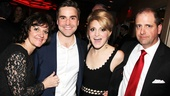 Kinky Boots star Annaleigh Ashford says Yeah! while surrounded by her parents and handsome fianc. 