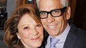 Handsome couple Linda Lavin and Steve Bakunas come in close for a photo.